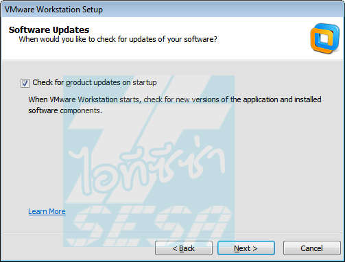 VMware Setup Software Updates
