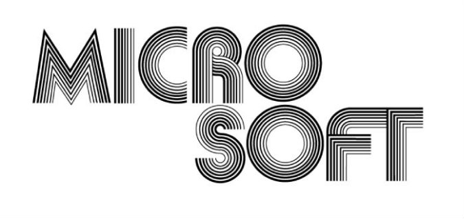 First Logo Microsoft 1975-1979