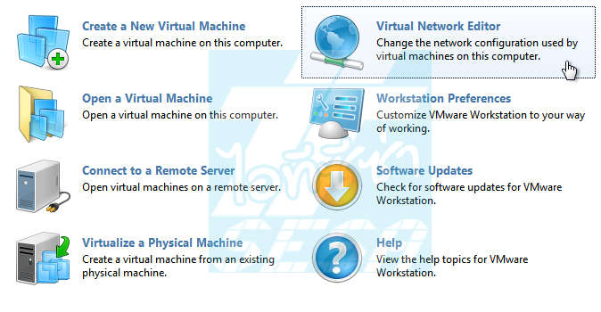 Virtual Network Editor VMware8