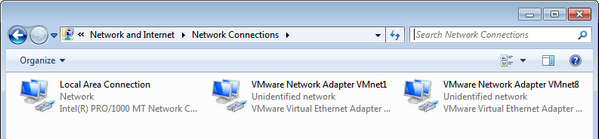 VMware Virtual Network Card