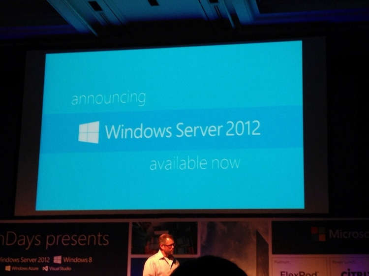 Announcing Windows Server 2012
