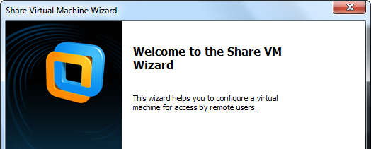 Share Virtual Machine