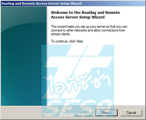 Routing Remote and Access Server Setup Wizard