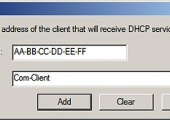 Configuring DHCP Filtering