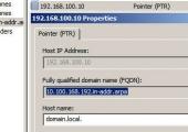 Configure DNS Reverse Lookup Zones