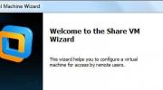 Share Virtual Machine & Remote VMware Workstation